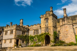 Haddon Hall entrance