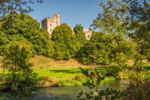 Haddon Hall and the River Wye