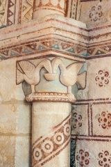 Chancel arch capital, north side