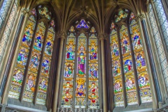 The east window by Willement