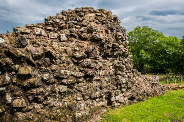 Hare Hill Roman wall