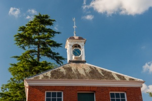 The Music Room exterior and cupola