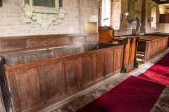 Georgian box pews