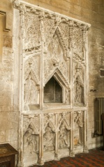 The 14th century Easter Sepulchre