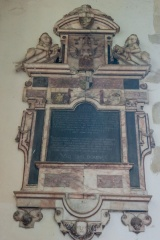 William Southland memorial, 1638