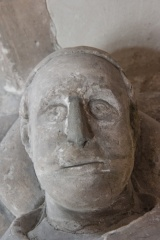 William de Heghtresbury effigy