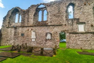 The nave of the priory church at Inchmahome
