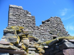 Ruins of the laird's house (c) Colin Smith