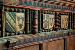 Whytyng Chapel panelling
