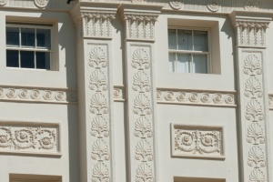 Robert Adam pilasters and windows