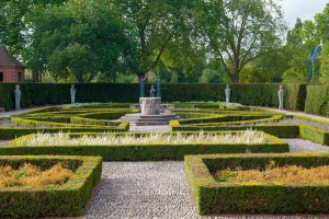 The formal gardens