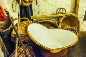 A traditional hip bath