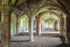 The priory undercroft