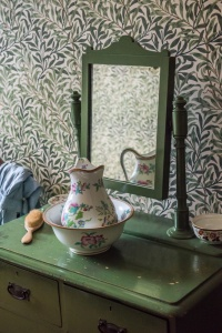 Washstand in the maid's bedroom