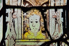 13th century glass detail