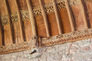 15th century roof carvings