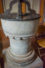 The post-Reformation font
