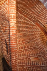 15th century brick staircase