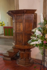 Jacobean pulpit