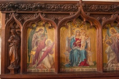 1914 painted reredos