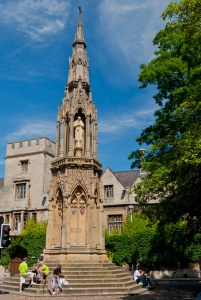 The Martyr's Memorial, Oxford