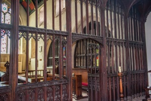 15th century parclose screen