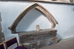 14th century Thorne tomb recess
