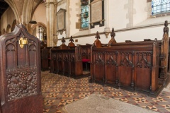 15th century choir stalls