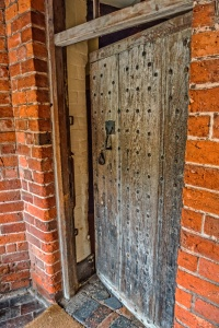 The 'King's Door' by which Charles II entered Moseley in secret