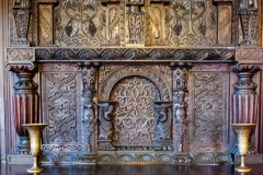 16th century carved mantlepiece