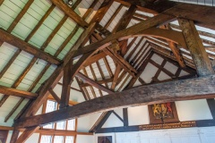 The timber roof