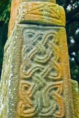 Celtic knotwork carving