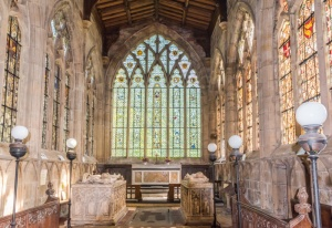 The chancel, a 'lantern in stone'