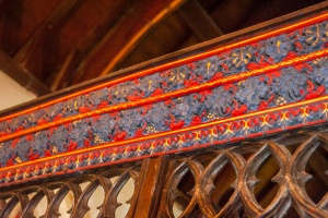 15th century Lady Chapel screen