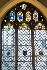 East window medieval stained glass