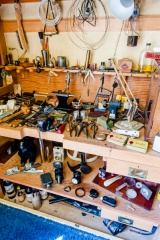 Morris's bedroom workbench