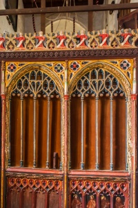 The 15th century tower screen