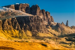 Old Man of Storr and Loch Leathan