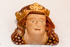 Edward II carved head