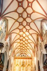 Chancel vaulting