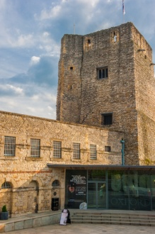 St George's Tower and the visitor entrance