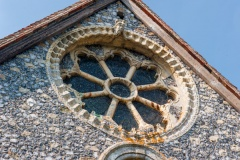 12th century wheel window