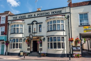 The historic Angel Inn, haunt of royalty and highwaymen