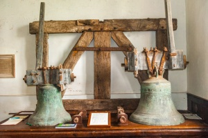 The historic bells display