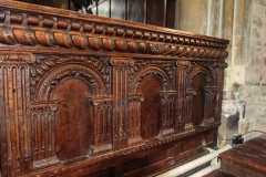 Jacobean screen panel