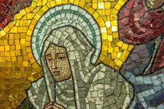 Chancel mosaic detail