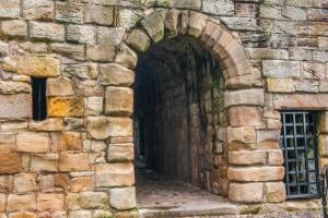 The main castle entrance