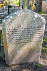 Epitaph to his father, by Robert Burns