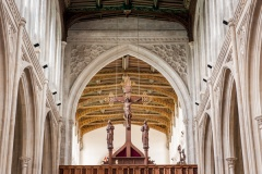 The rood and chancel arch