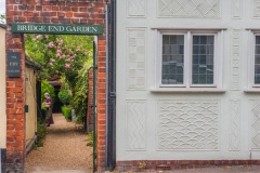 Bridge End Garden entrance